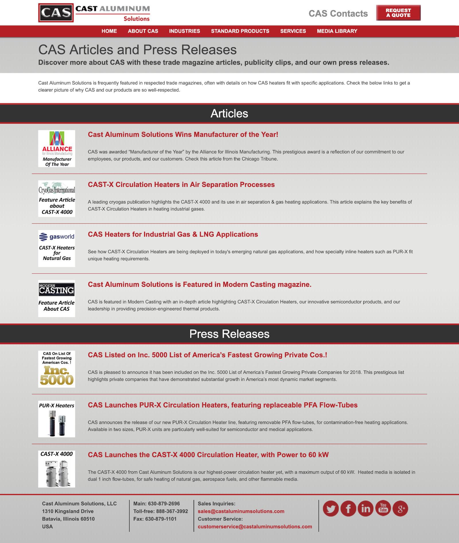 Cas Articles