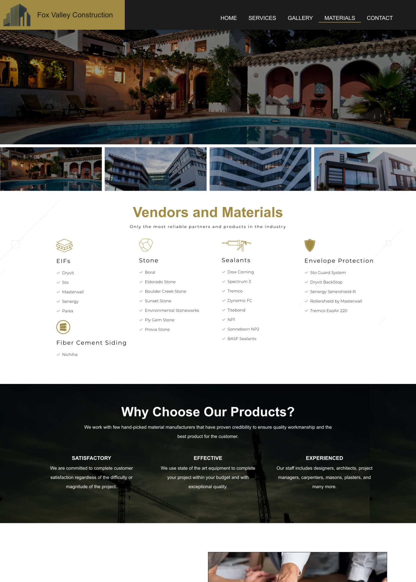 Fvc Materials