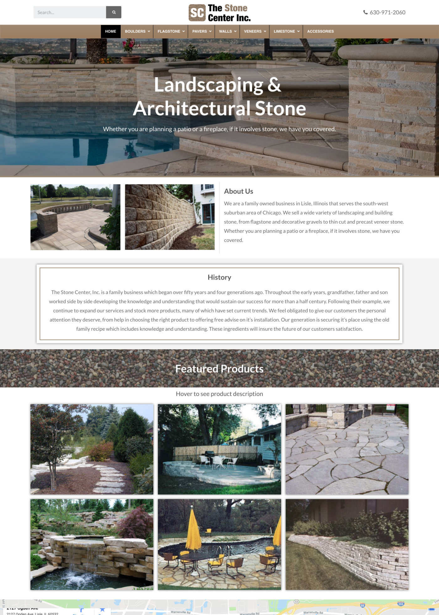 Stone Center Home