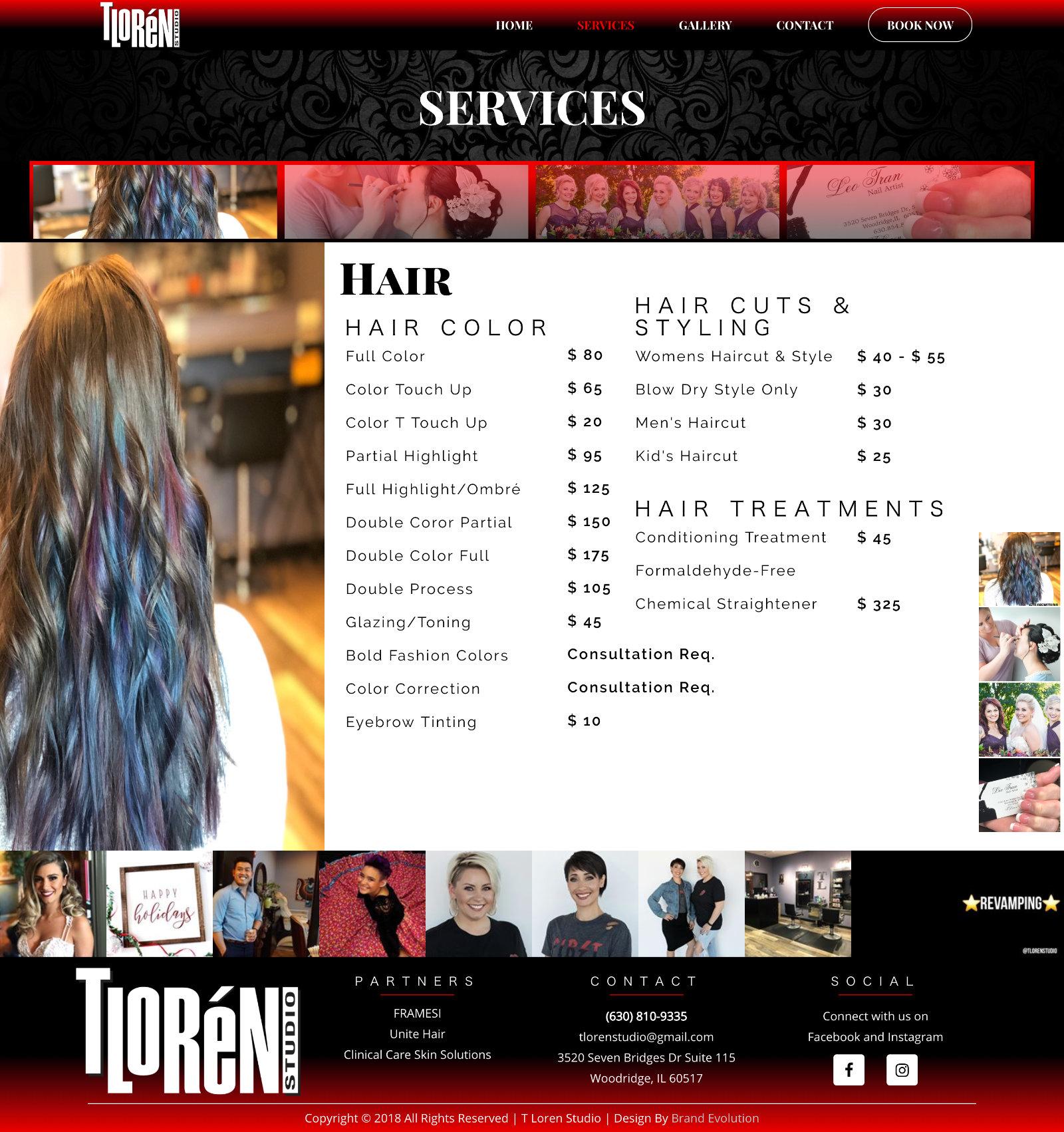 Tloren Services