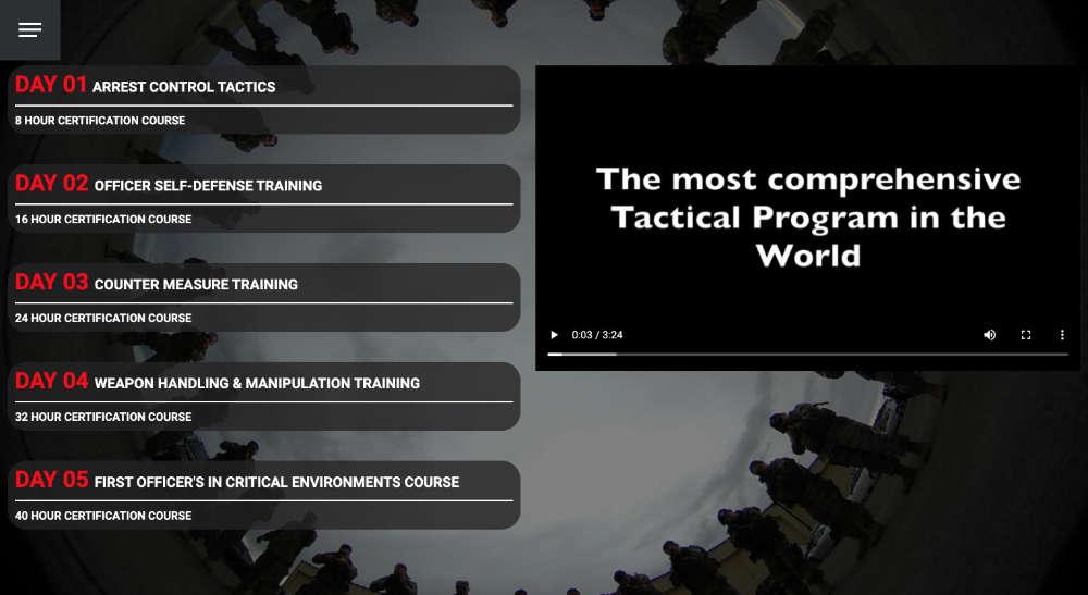 combat training retention module home