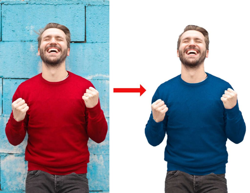 Using accent colors in image to match website colors