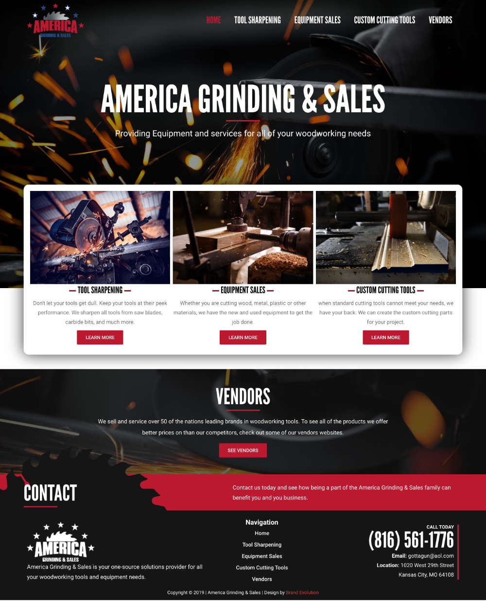 America Grinding New Site