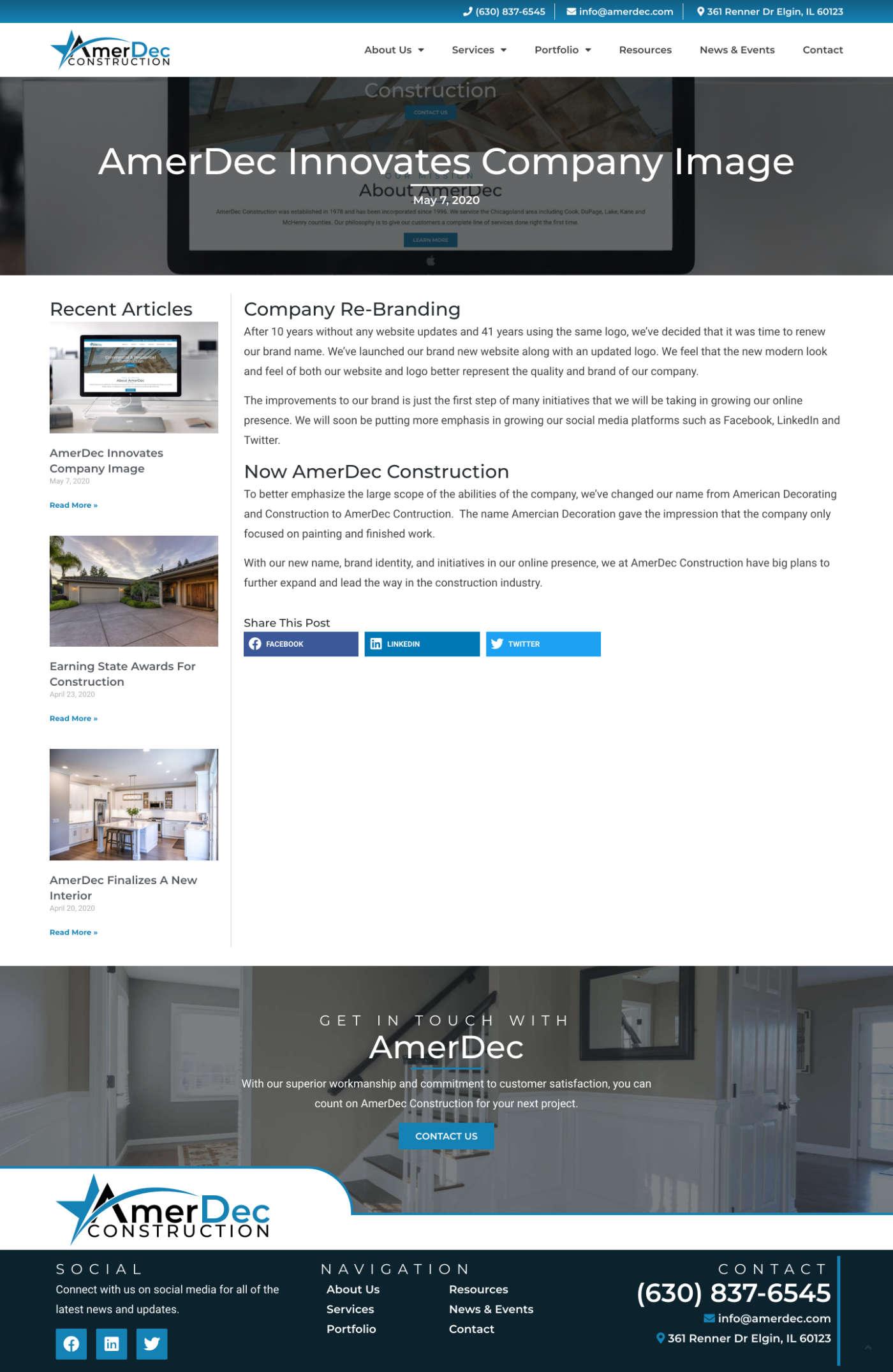 Amerdec Blog