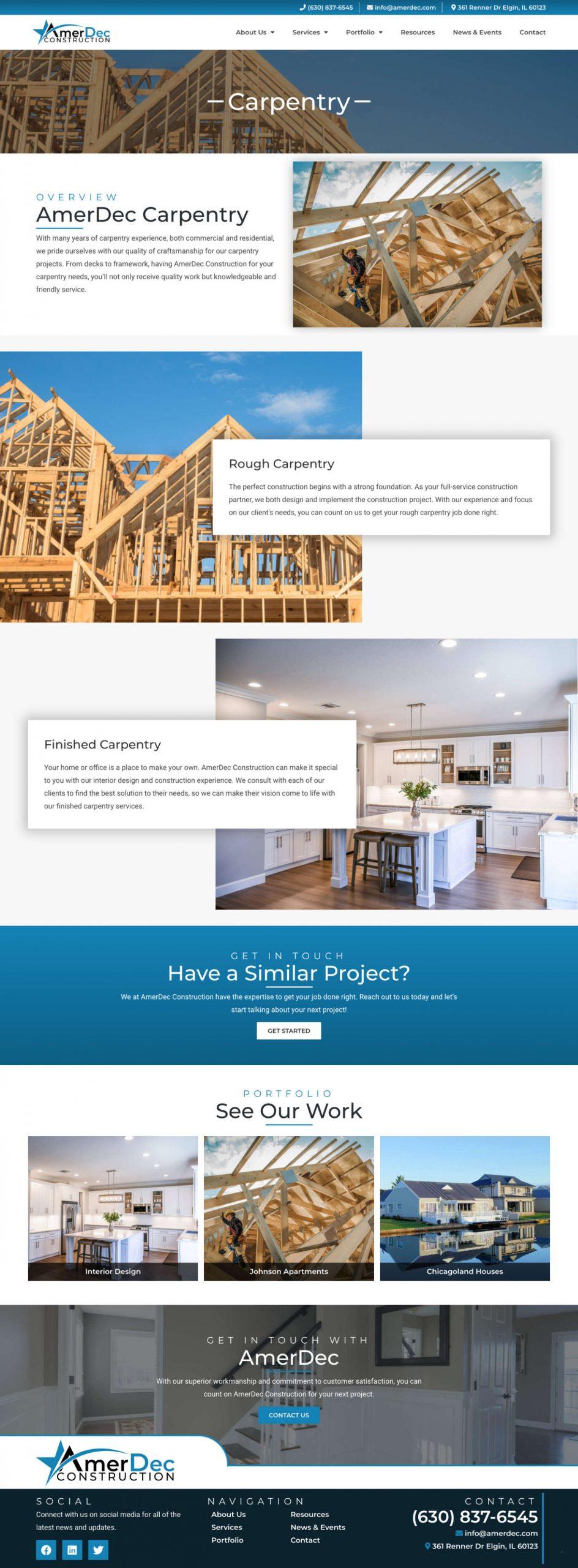Amerdec Carpentry