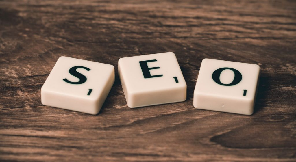 SEO Tiles used to explain how to make your website stand out